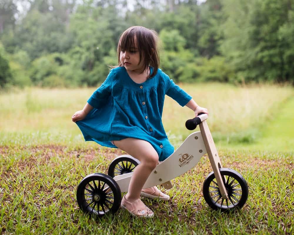 Kinderfeets convertible tricycle non-toy gifts for kids
