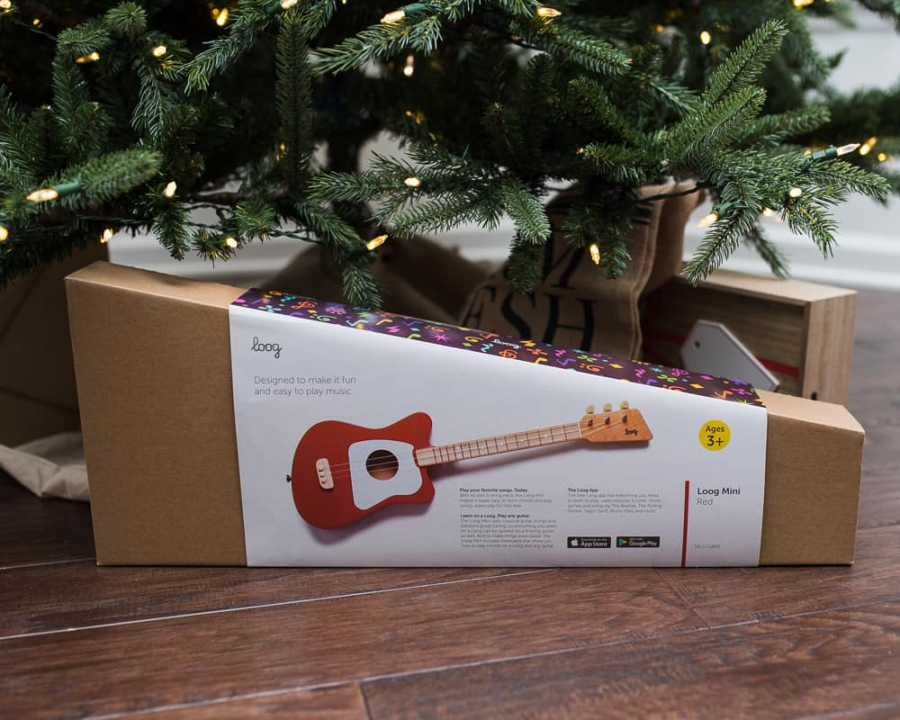 Loog Acoustic Guitar gifts for kids