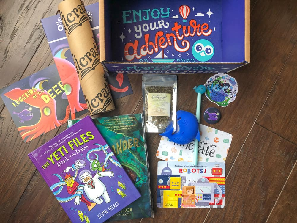 OwlCrate Jr subscription box for kids