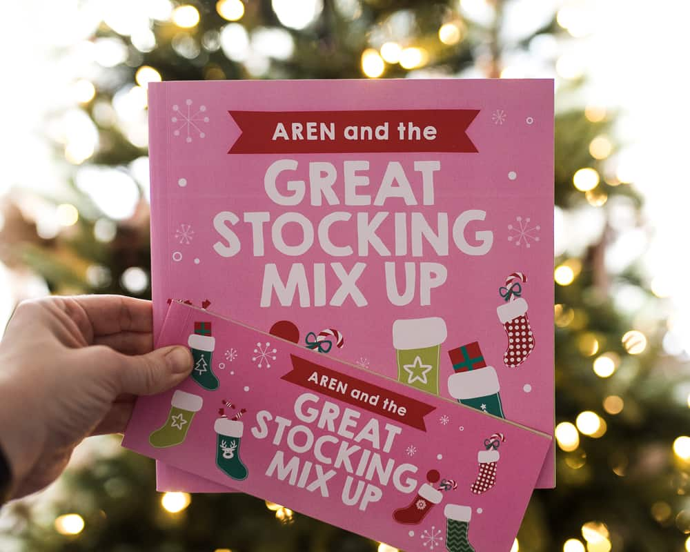 Personalized Christmas Book best non-toy gifts for kids
