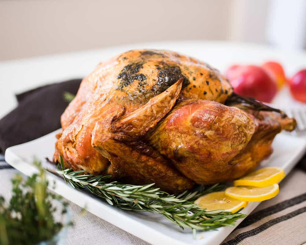 Whole30 Thanksgiving Turkey with Fruit & Herbs