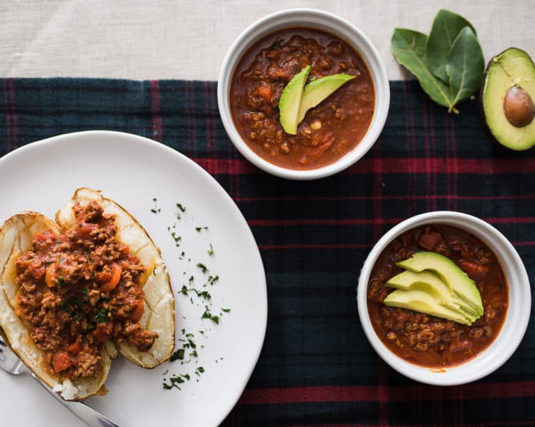 Instant Pot Paleo Chili Recipe | Whole30 & Keto