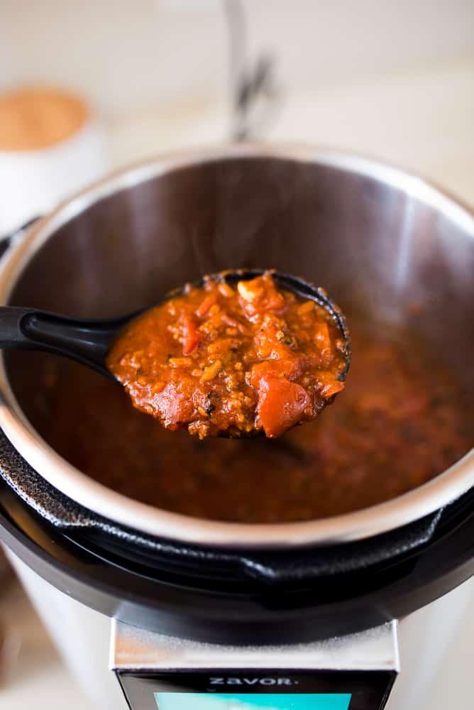 Zavor Multicooker Paleo Chili Recipe