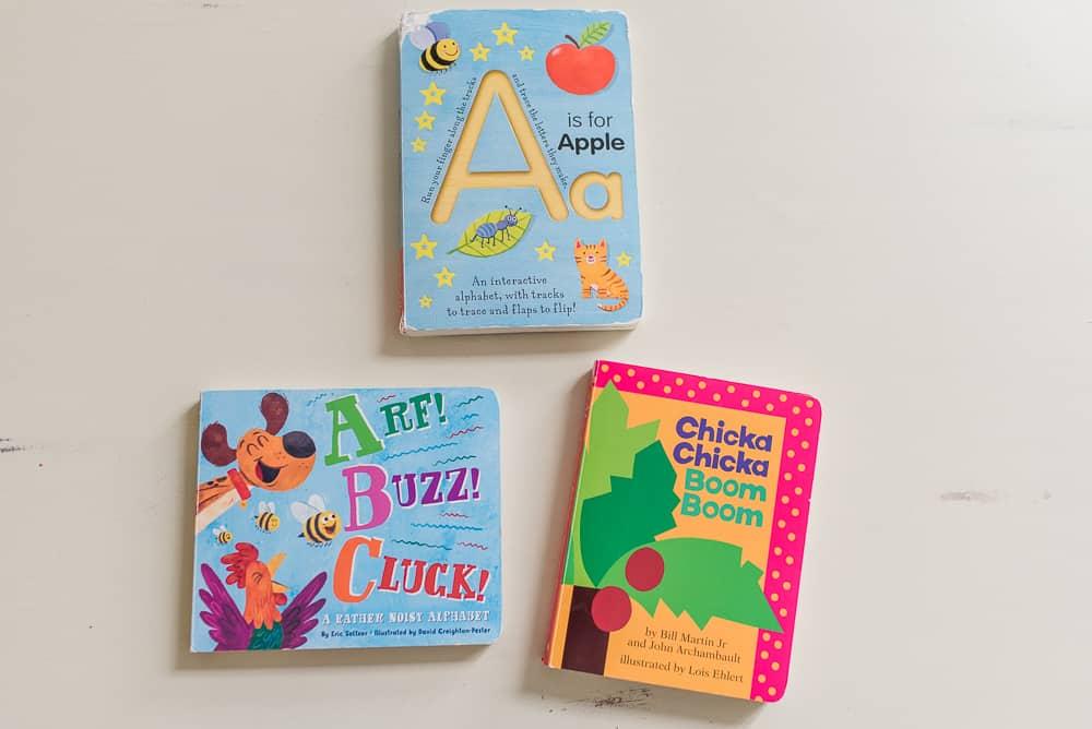 alphabet books encourage reading