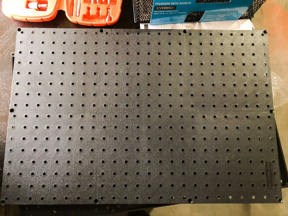 Pegboards for Nerf Armory