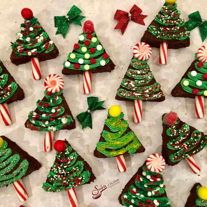 Easy Christmas trees are an easy holiday recipe for kids.