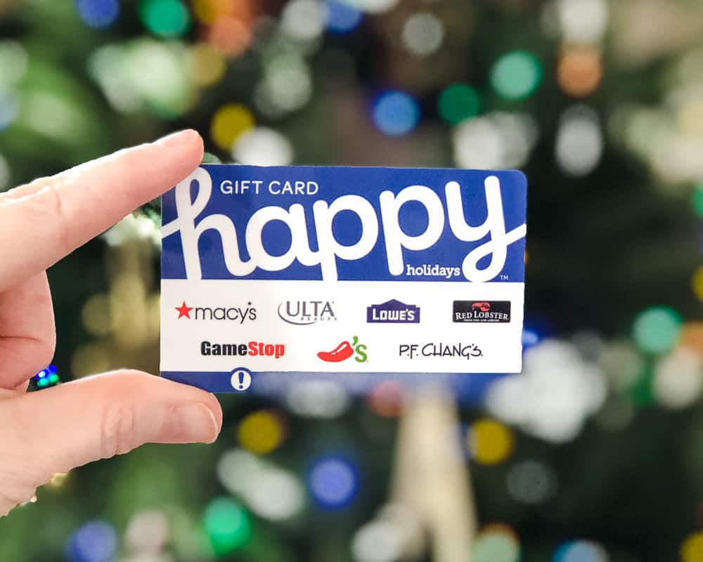 Happy Holidays Gift Card best gifts for mom