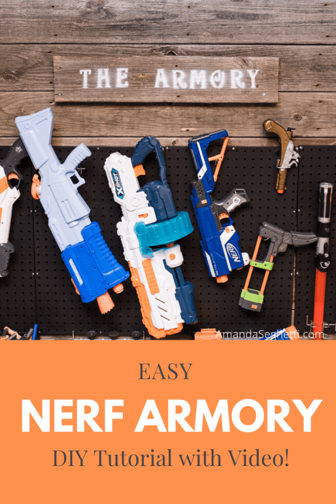 Nerf Armory Pin