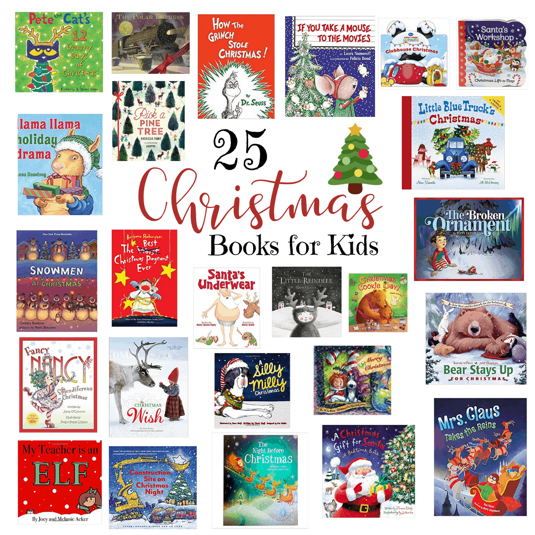25 Christmas Books for Kids