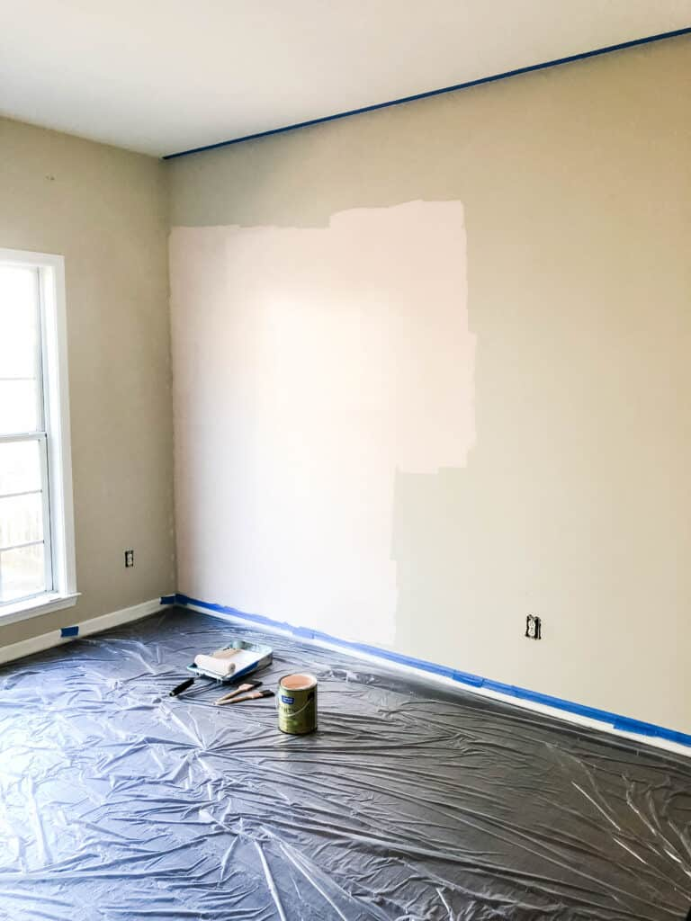 Guest room/office combo makeover in progress