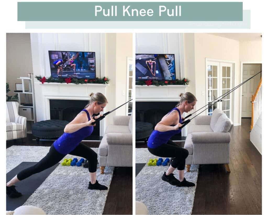 P90X3 Pull Knee Pull modified version