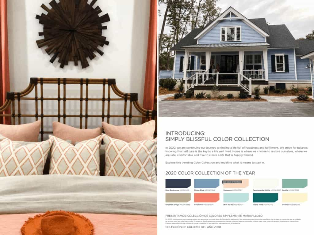 HGTV Dream Home 2020 and Simply Blissful Color Collection