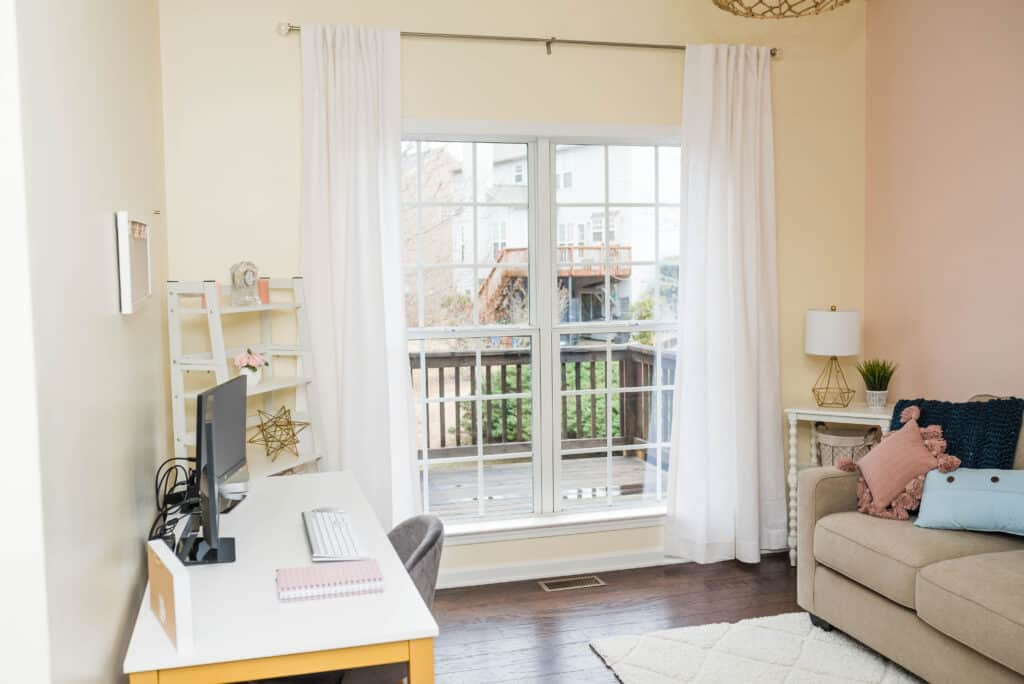 Blissful Guest Room Office Combo Before After Design Photos Amanda Seghetti