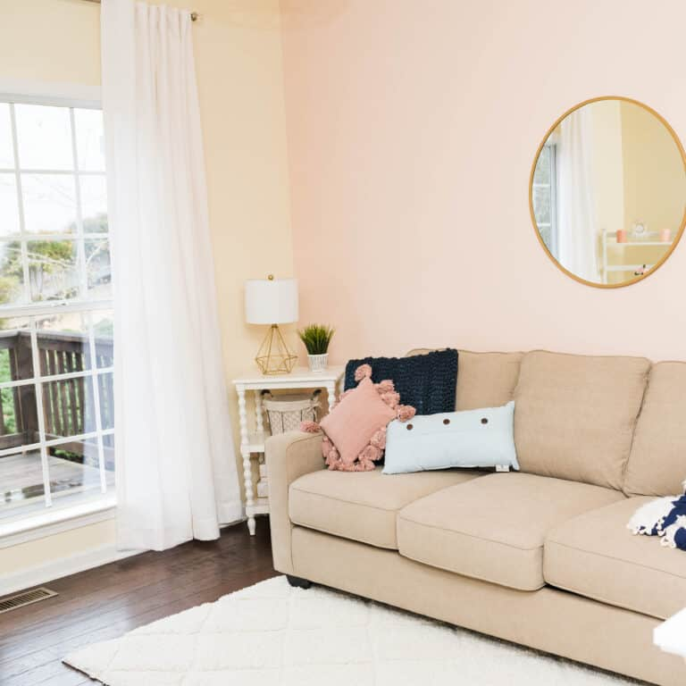 Blissful Guest Room/Office Combo: Before & After Design Photos