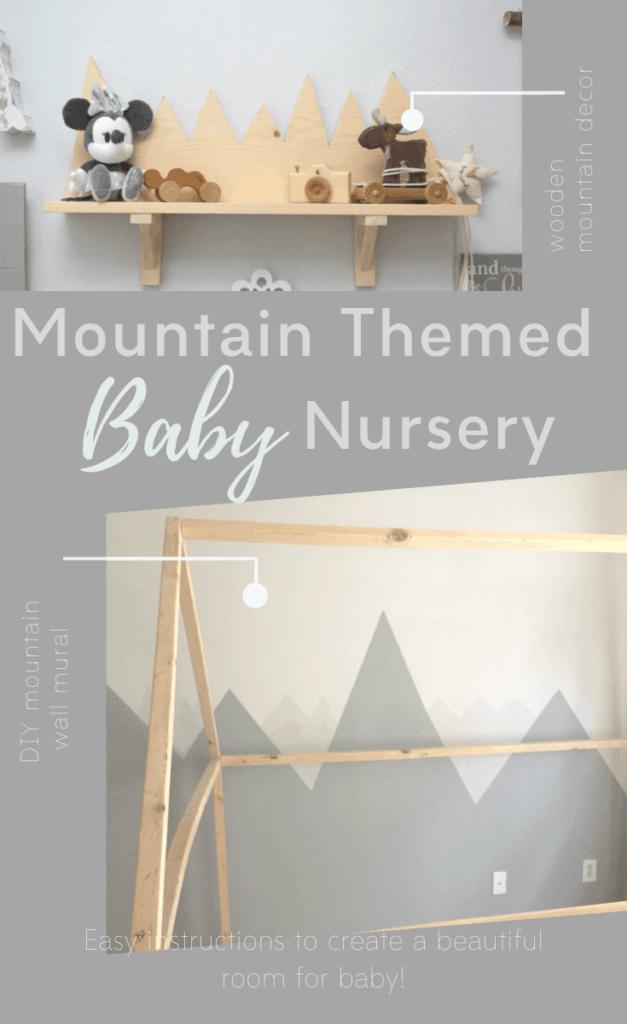 DIY Mountain Nursery Pin - Amanda Seghetti