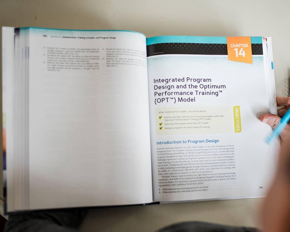 NASM OPT Model textbook