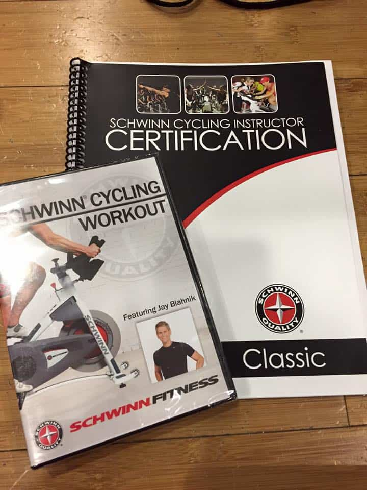 Schwinn Cycling Instructor Certification manual