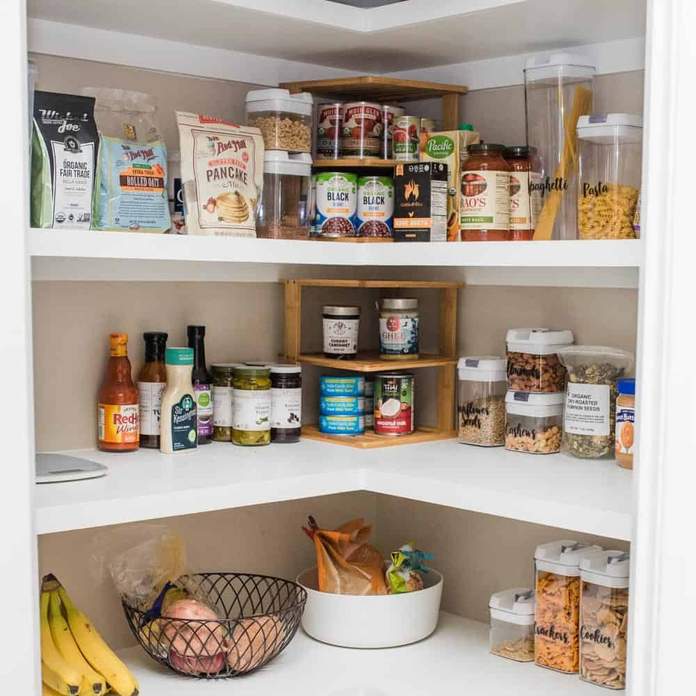 Healthy Pantry Organization for Clean Eating