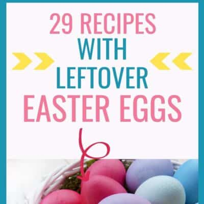 29 recipes with leftover easter eggs square