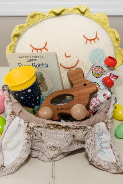 Easter Basket for Baby