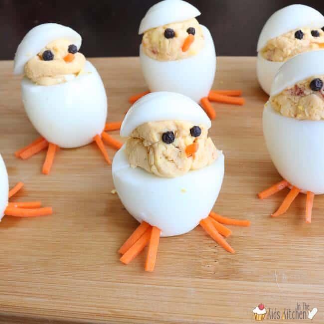 Egg chicklets 3 - Amanda Seghetti