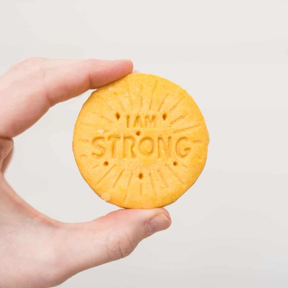 i am strong girl scout cookie