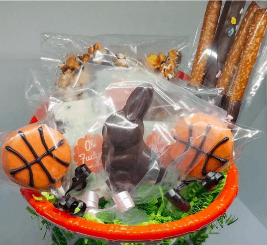sports easter basket for kids
