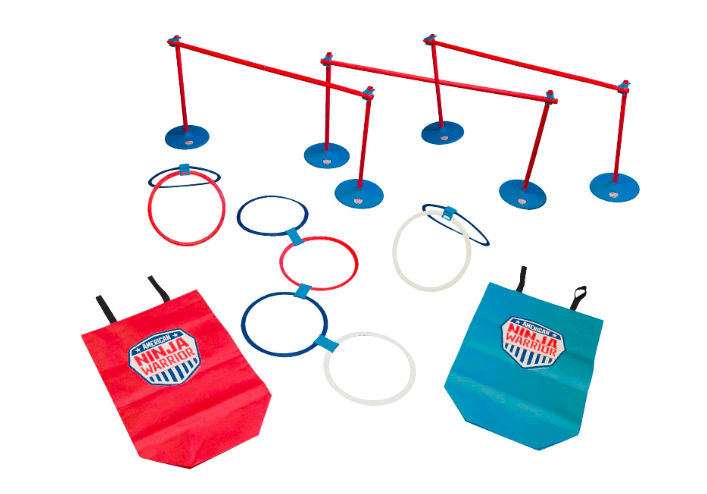 american ninja warrior obstacle course race kit