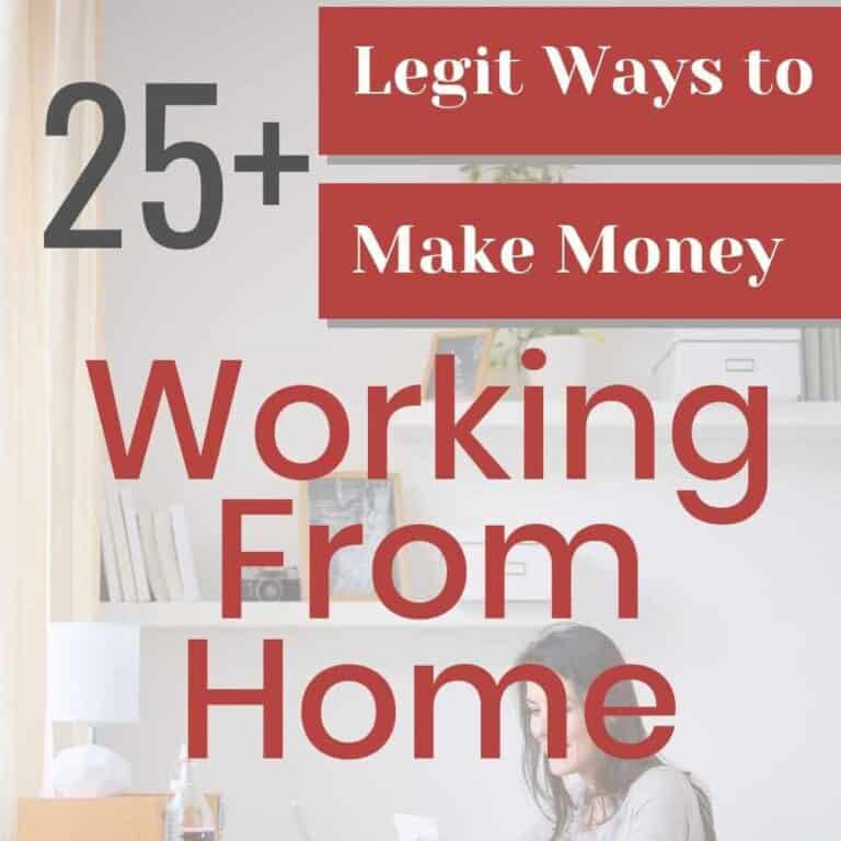 Ways to Make Money from Home + Side Hustles