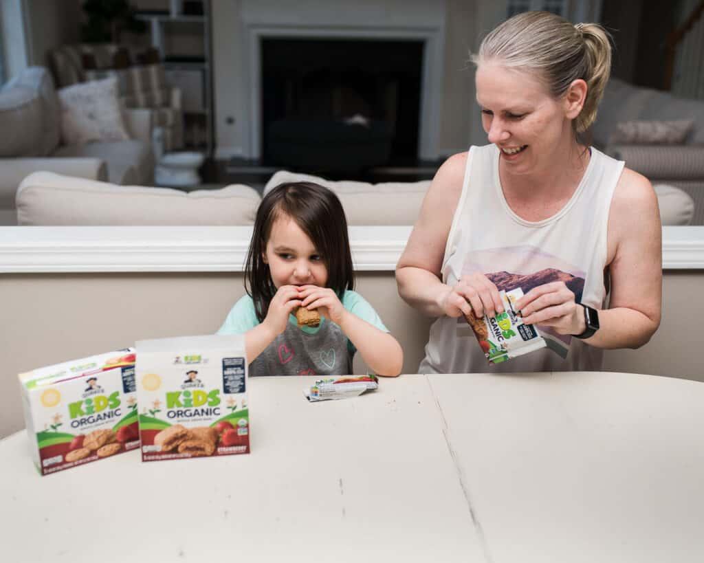 Aren eating quaker kids organic