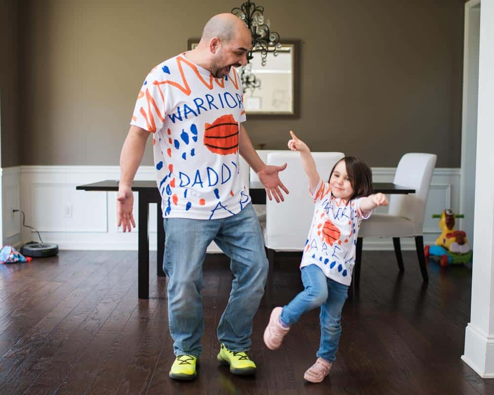 Arien and Aren with Picture This clothing custom Tshirts for Father's Day Gift
