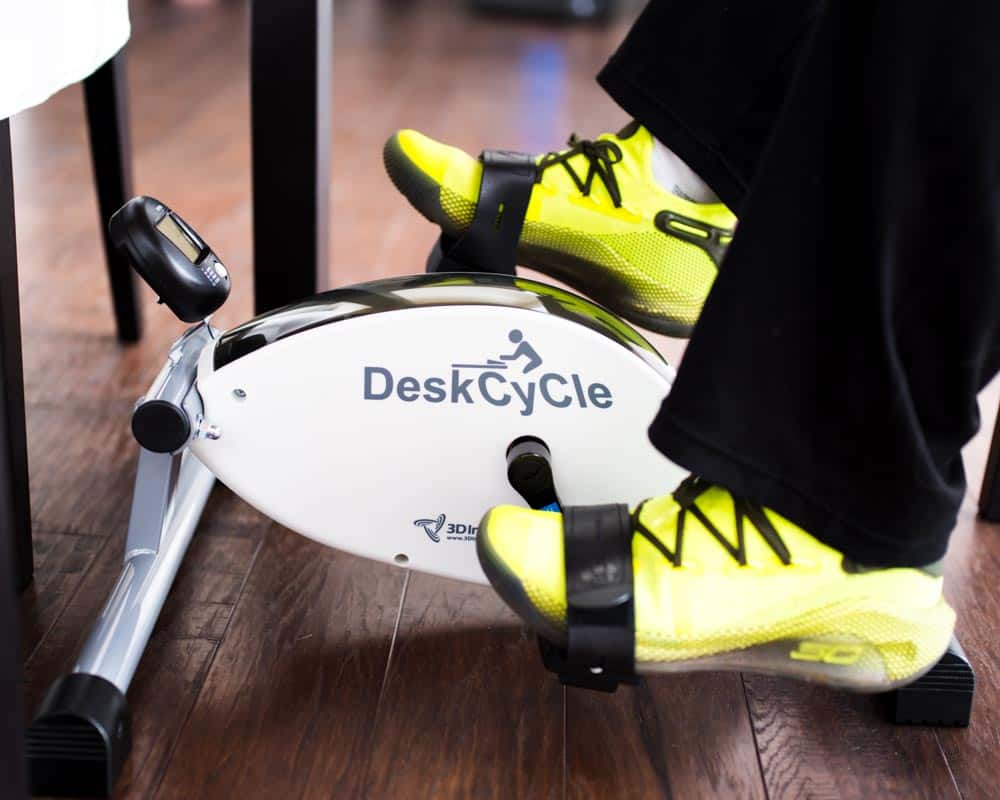 Desk Cycle home gym and fitness equipment