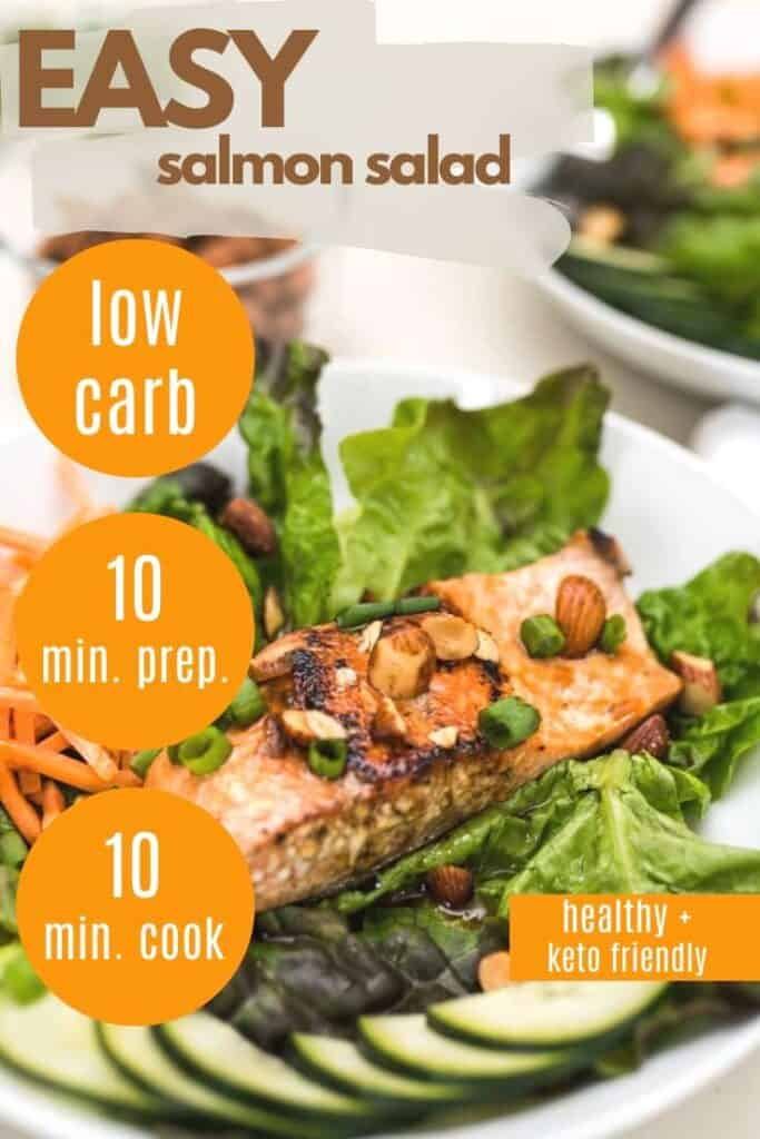 Easy Salmon Salad pin - Amanda Seghetti