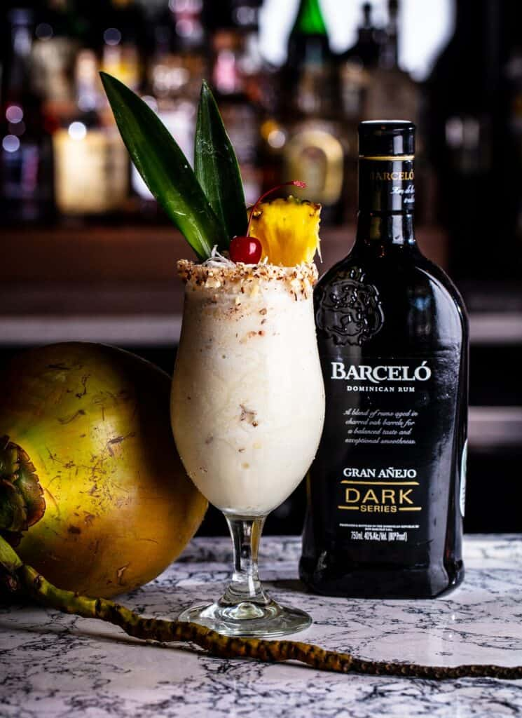 Pina Isolada Ron Barcelo Rum