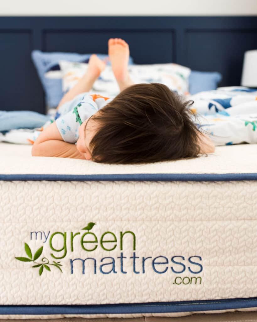 my green mattress organic hybrid twin mattress