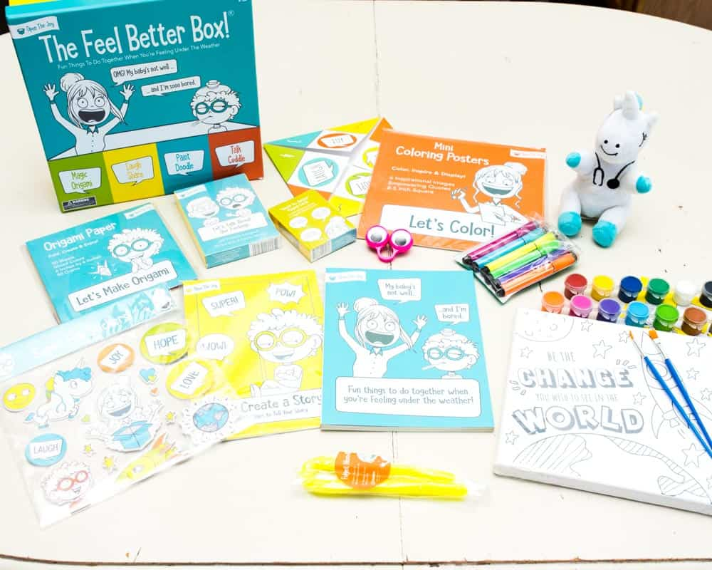 The Feel Better box boredom buster