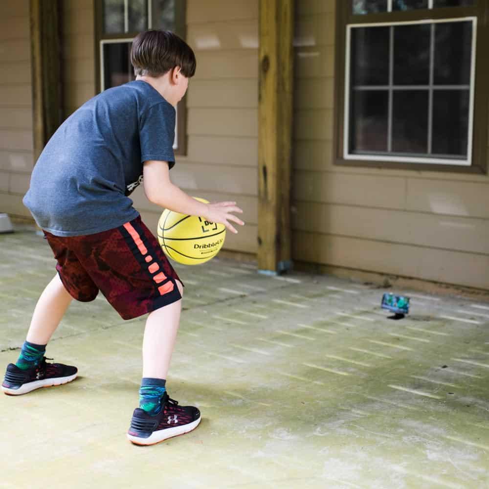 dribbleup basketball for home exercise