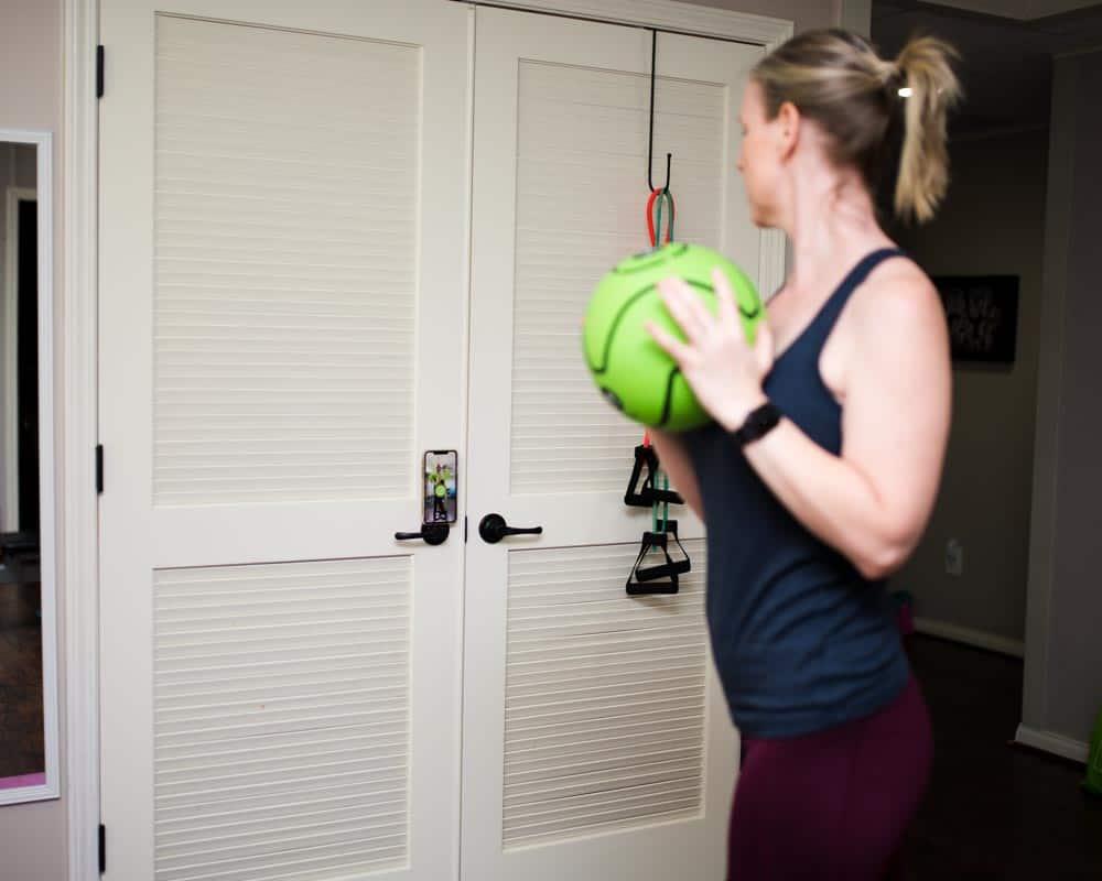 dribbleup medicine ball home gym fitness equipment
