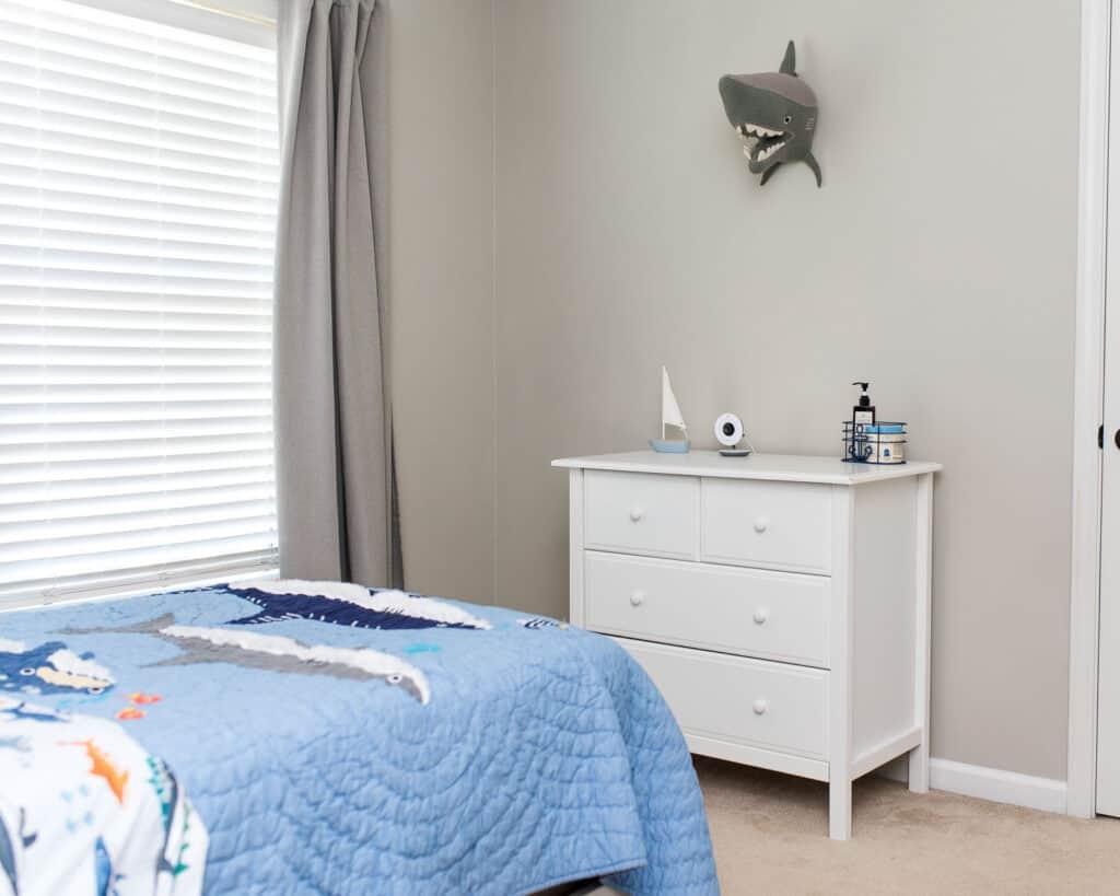 shark bedroom decor for big boy bedroom makeover