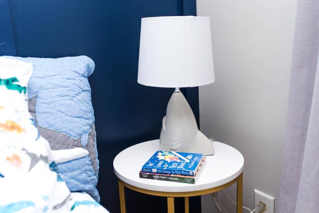 shark lamp for bedside table