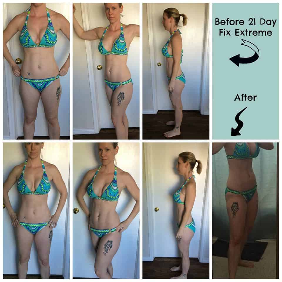 21 day fix extreme before and after photos