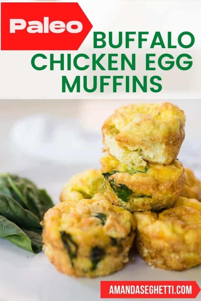 Buffalo Chicken Egg Muffin Pin - Amanda Seghetti