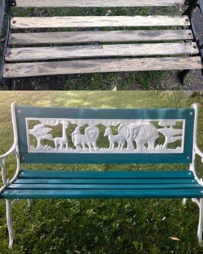 Iron Bench Restoration