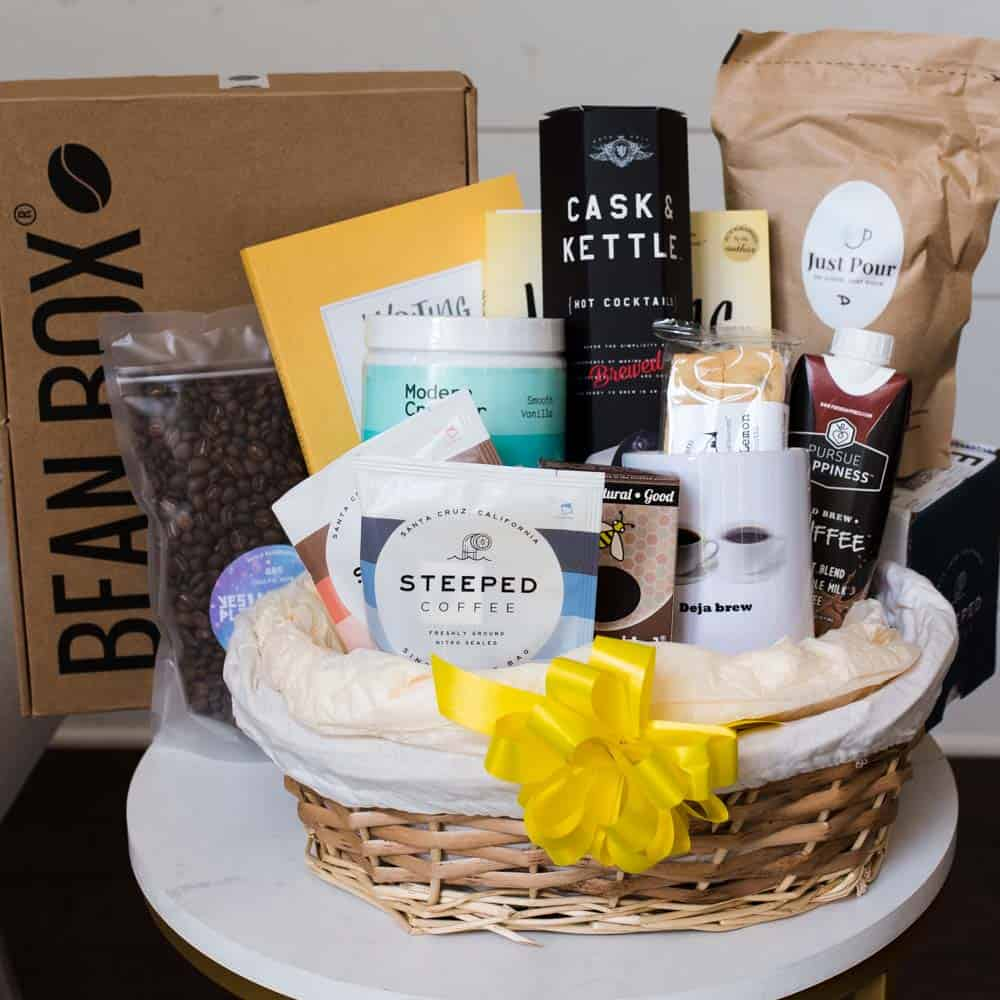 best gifts for coffee lovers gift basket