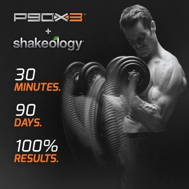 P90X3 and shakeology