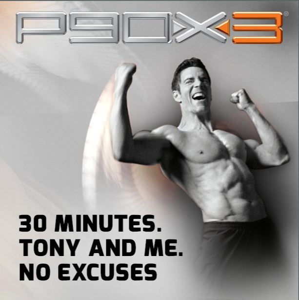 P90X3 Tony and Me no excuses