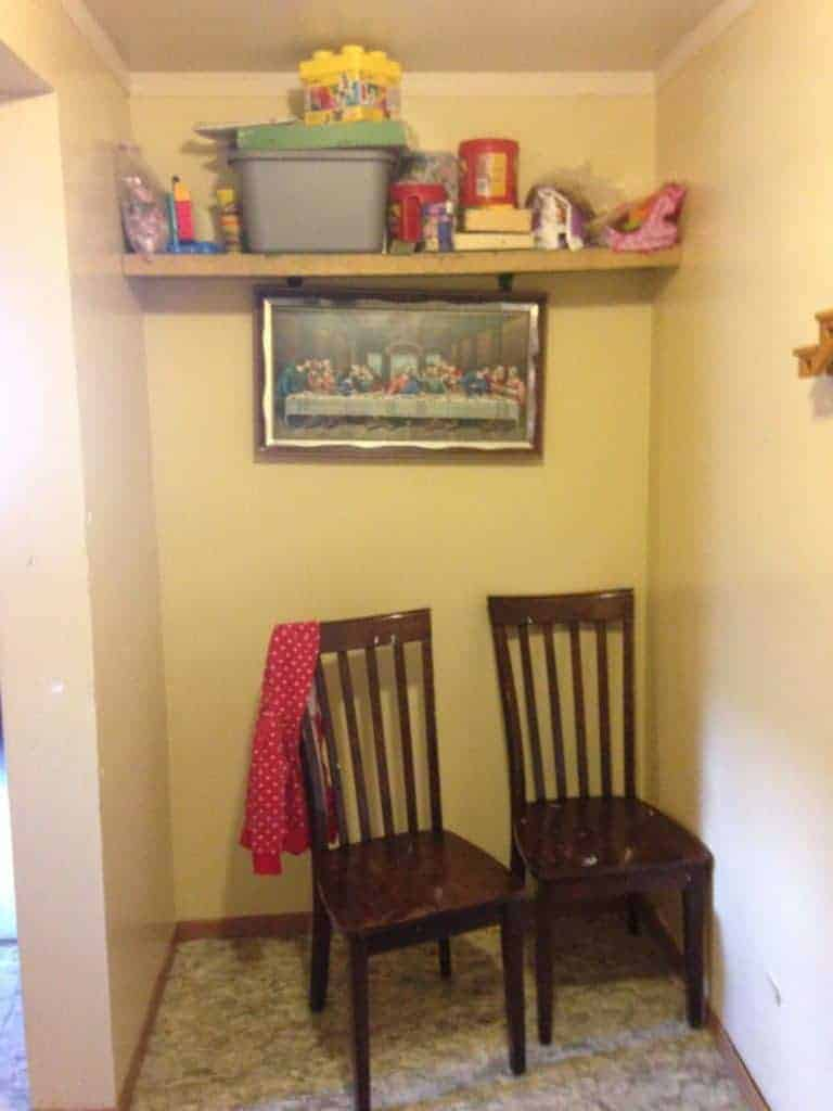 kitchen pantry before