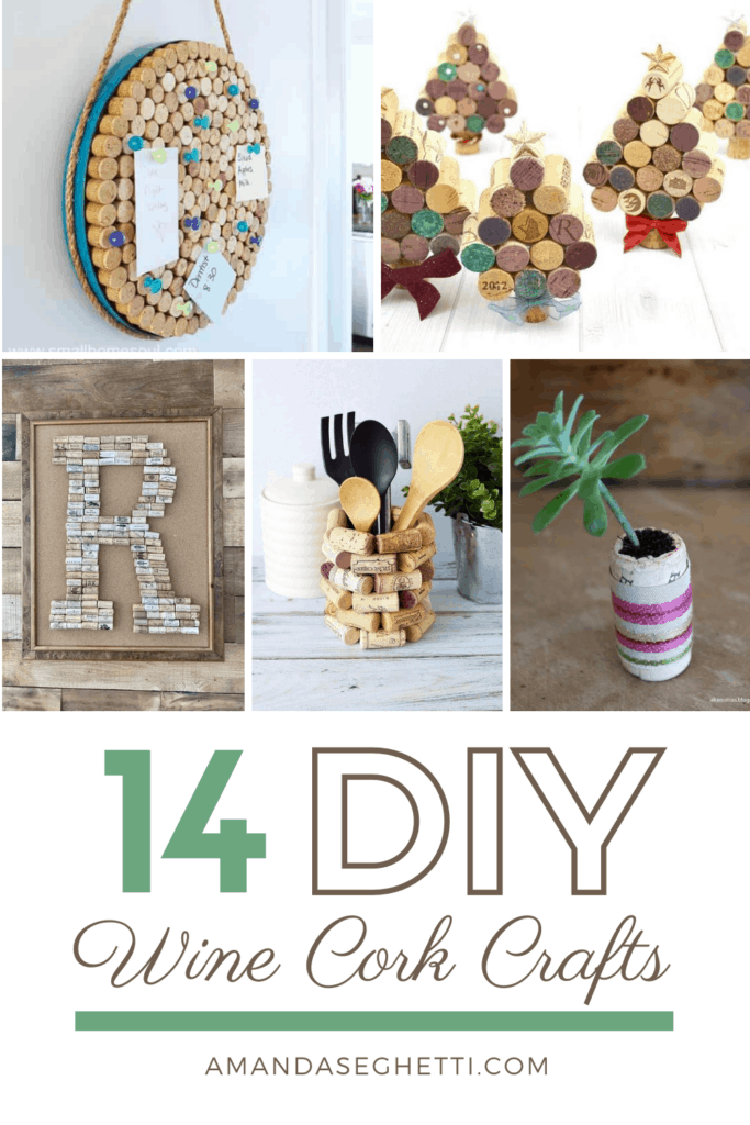14 DIY Win Cork Crafts - Amanda Seghetti