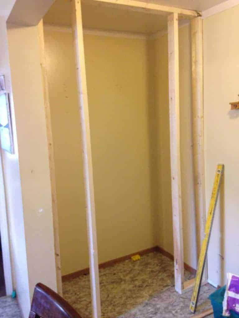 framing door to pantry