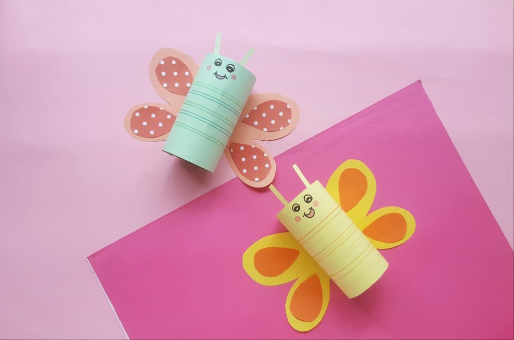 Butterfly Craft for Kids - Amanda Seghetti